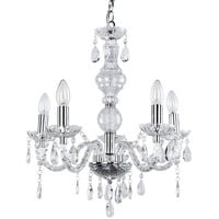 Lámpara de araña LED elegante - con cinco brazos estilosa
