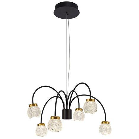 Lámpara de araña LED Fany (6 luces)