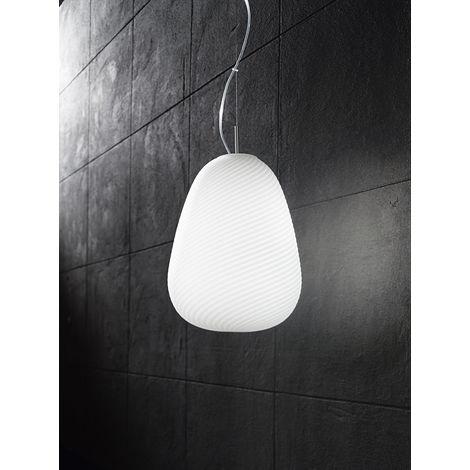 Lámpara de arana moderna de cristal blan cm 0 PERENZ 6462