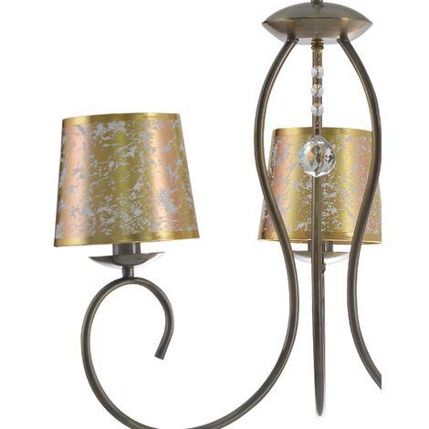Lámpara de araña Tampico (3 luces)