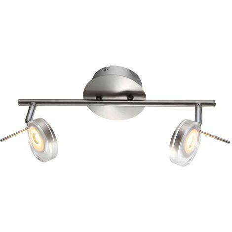 Lámpara de barra de foco de luz de techo LED iluminación de sala de estar ajustable Globo 56190-2