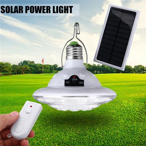 Lámpara de camping solar urgen 22LED para exteriores colgar 3.7V ABS