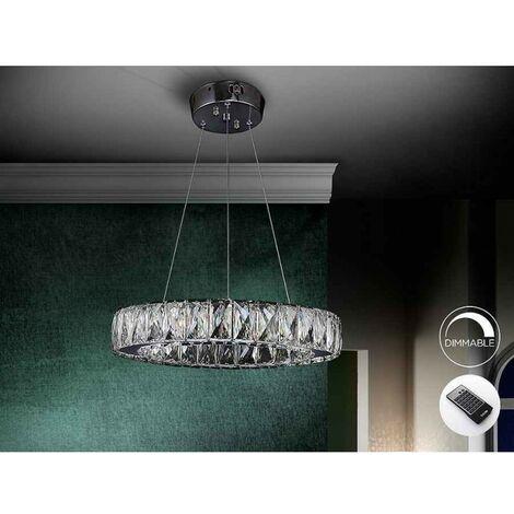 Lámpara de cristal DIVA led dimable de Schuller