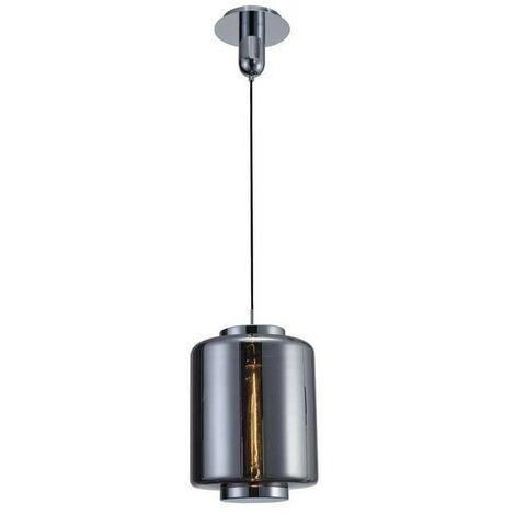 Lámpara de cristal JARRAS grafito espejado de Mantra