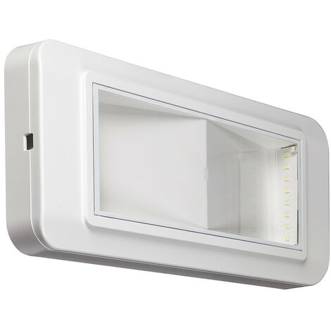 Lámpara de emergencia Beghelli LED SI 6 W/1NC IP40 4101