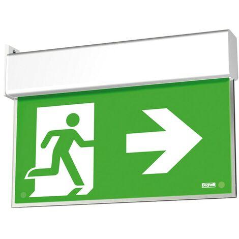 Lámpara de emergencia Beghelli SABE HASTA de SALIDA LED indicador de 1/2/3H 4320