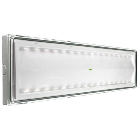 Lámpara de emergencia Beghelli SI 18W LED IP65 de la longitud de 55 cm 8586