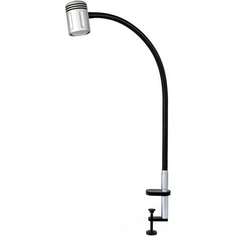 "main image of ""Lámpara de escritorio LED con pinza"""