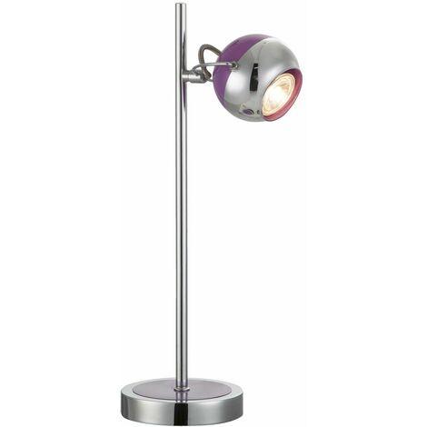 Lámpara de escritorio LED para mesita de noche, lámpara de lectura ajustable para sala de estar, iluminación Globo 57887-1T