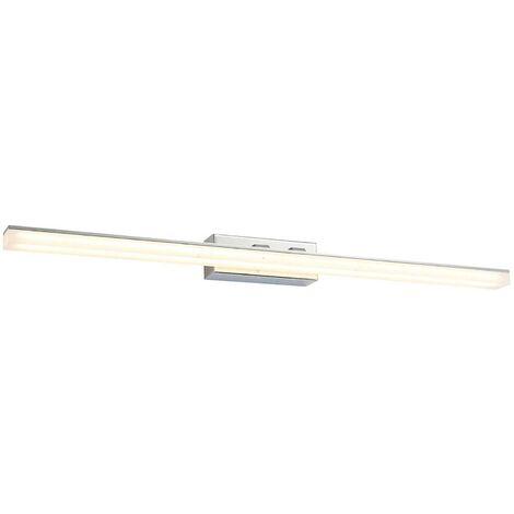 Lámpara de espejo LED Julie, forma alargada, IP44