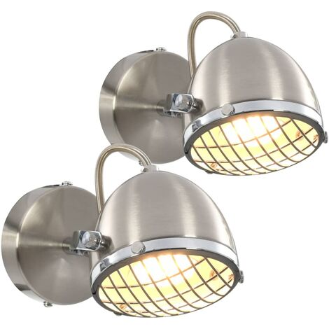 Lámpara de focos 2 unidades negro GU10