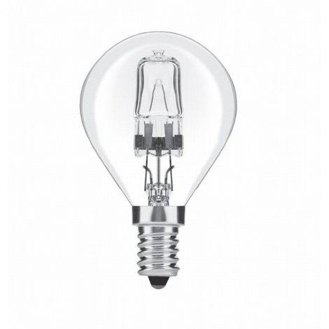 Lámpara de halógeno 42w e14 regulable eco G45