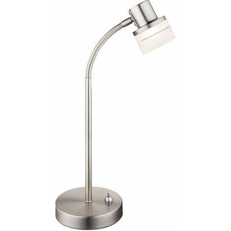 lámpara de lectura brazo de la lámpara flexo cabecera LED de la iluminación Globo 56550-1T