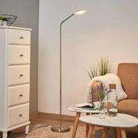 Lámpara de lectura LED Friedarika en color níquel