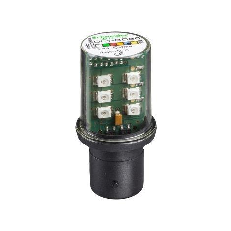 LAMPARA DE LED BA 15D 24V AZUL SCHNEIDER ELECTRIC DL1BDB6