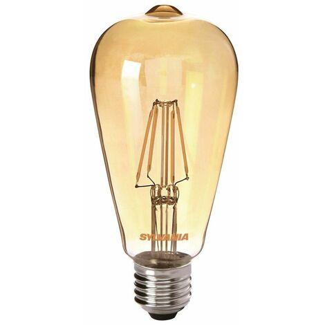Lampara de LED Sylvania Toledo Retro ST64 400lm E27 Golden