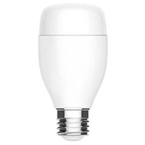 Lampara de luz LED inteligente con bombilla inteligente WiFi, hogar remoto, E27, 7W(no se puede enviar a Baleares)