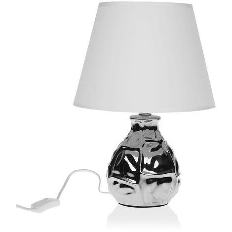 Lámpara De Mesa Cerámica (22,5 X 32 X 22,5 Cm)