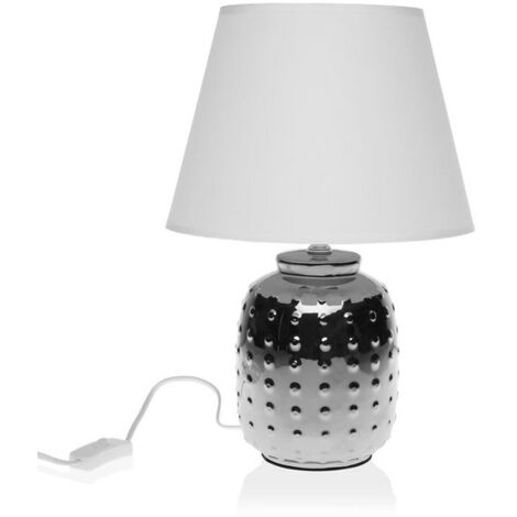 Lámpara De Mesa Cerámica (24,5 X 36 X 24,5 Cm)