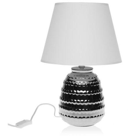 Lámpara De Mesa Cerámica (24,5 X 37 X 24,5 Cm)