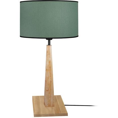 Lampara de mesa madera al mejor precio