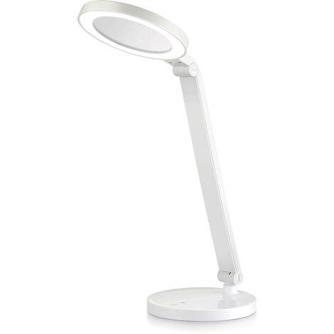 Lámpara de mesa con espejo de maquillaje 8W CCT Dimable