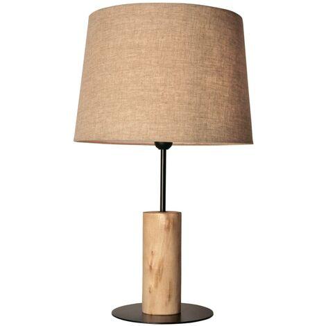 """Lámpara de mesa de madera """"WOOD"""" E27"""