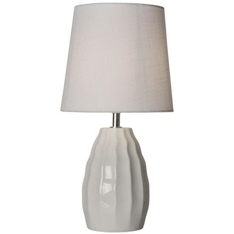 Lámpara de mesa de porcelana diseño vintage E14