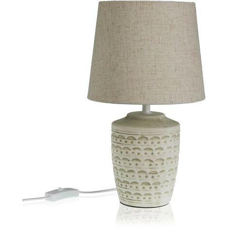 lampara de mesa dibujo 34,5x20