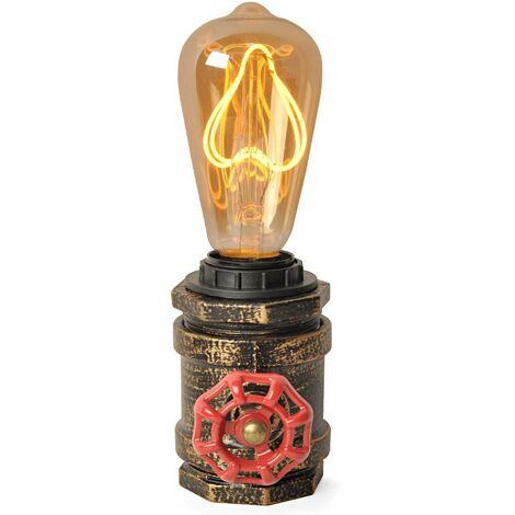 """Lámpara de mesa """"LUXXO"""" tubería E27"""