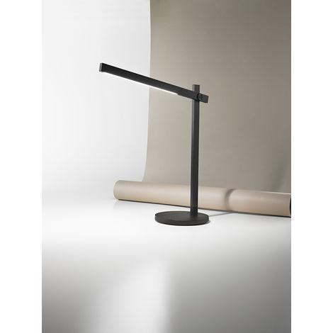 Lámpara de mesa negra con luz LED de 4W cm 0 PERENZ 6646 N