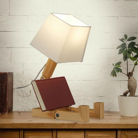 Lámpara de mesa Robot, Ajustable, Original, Lámpara de