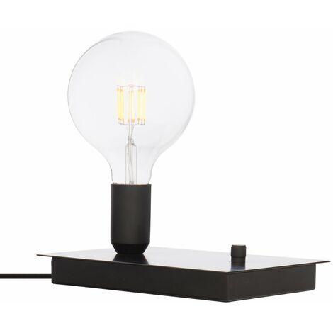 Lámpara de Mesa Task SKLUM Aleación de Hierro Negro - Negro