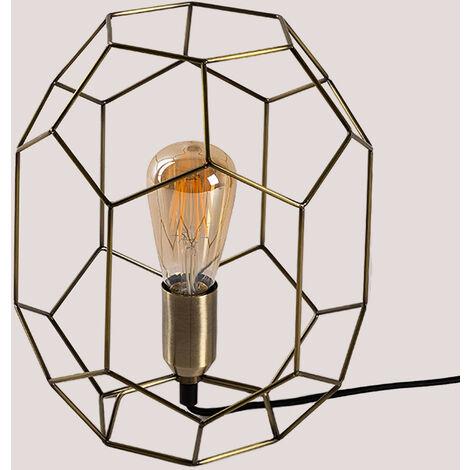 Lámpara de Mesa Tull SKLUM Aleación de Hierro Dorado - Dorado