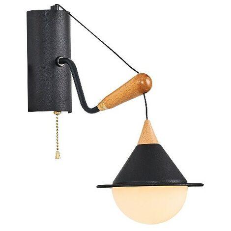 Lampara de Mesa Valetta - para Escritorio, Oficina, Mesita de Noche - en Metal, 17 x 20 x 52 cm, 1 x E27, 40W