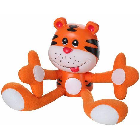 Lámpara de mesita de noche LED para niños, sala de juegos, iluminación para niñas, niños, lámpara de tigre Globo 26000