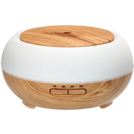 Lampara de noche LED inalambrica, humidificador de 400 ml, difusor de aceites esenciales