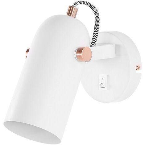 Lámpara de pared blanca TYRIA