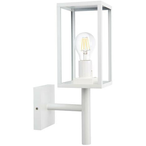 Lámpara de Pared Brazo Inferior Atrium Blanco Blanco