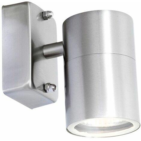 Lámpara de pared de área exterior LED, acero inoxidable, balcón, iluminación de jardín lámpara de vidrio Globo 3201L