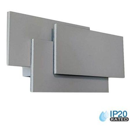 Lámpara de Pared de Diseño Moderno 12W Grey Body