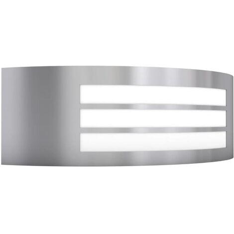 Lámpara de pared de exterior acero inoxidable