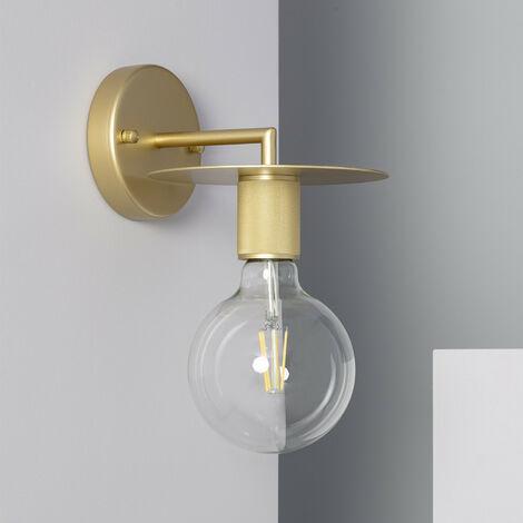 Lámpara de Pared de Pared Barret Oro