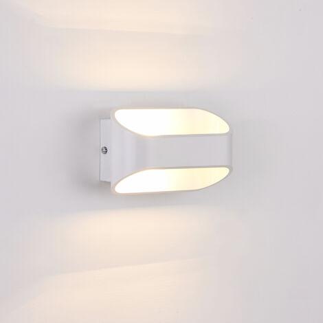 Lámpara de pared - diseño - blanco (1xG9) - 16 cm