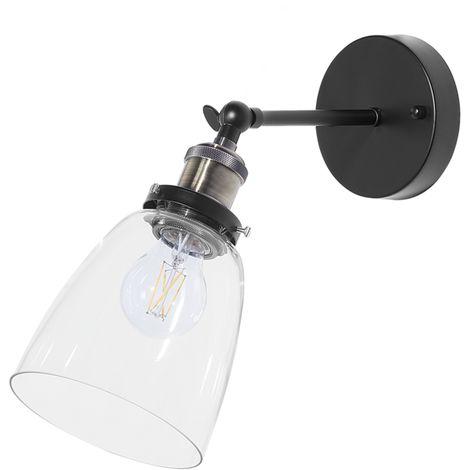Lámpara de pared en cristal transparente LOVAT