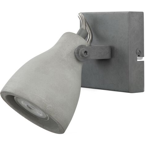 Lámpara de pared en hormigón gris claro MISTAGO I