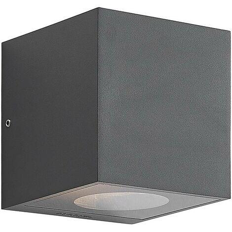 Lámpara de pared exterior 'Tassnim' (Moderno) en Negro hecho de Aluminio (1 llama, GX53, A++) de Arcchio   lámparas de pared para exterior aplique, lámpara LED para exterior, aplique para pared