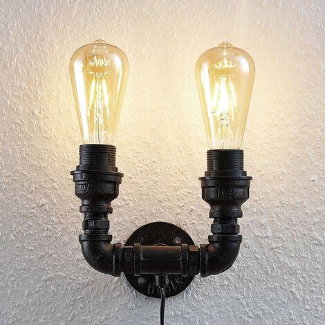 Lámpara de pared Josip, 2 brazos