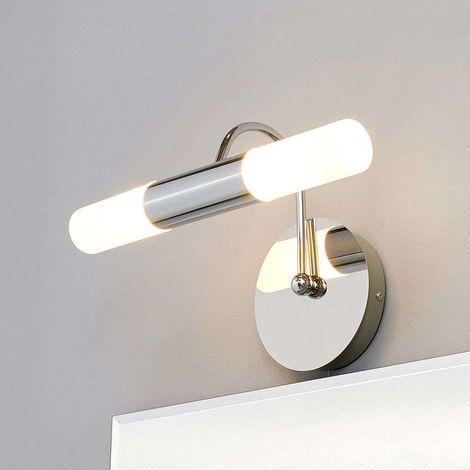 baño Benaja pared lámpara para de LED curvada lTFK1Jc