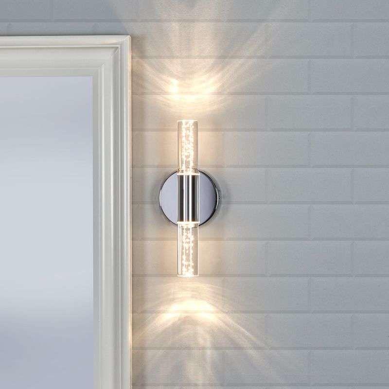 Lámpara de pared LED Duncan para cuarto de baño